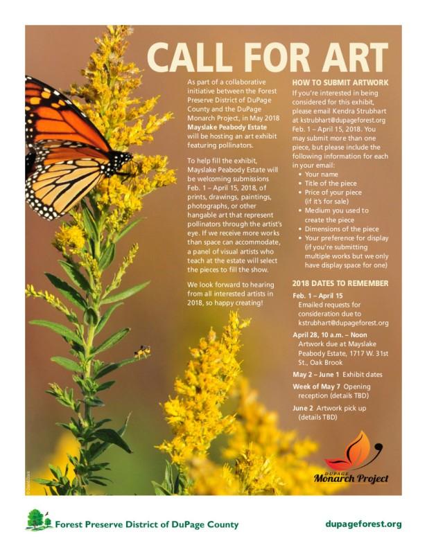 Call for Art flyer.DE.517